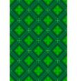 Dark green seamless background vector image