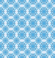 seamless background snowflakes vector image