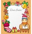 letter to Santa vector image