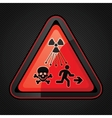 New Symbol Launched to Warn Public About Radiation vector image