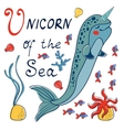 Narwhal the unicorn of the sea vector image vector image