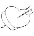 Heart01 vector image