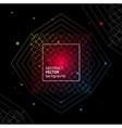 Light Geometry Background vector image