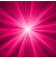 Purple abstract explosion background vector image