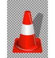 Road signs Orange Badge guardrails on transparent vector image