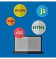 Web design vector image