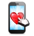 Mobile Love vector image