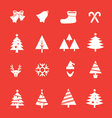 Set of Christmas icon vol 1 vector image vector image