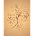Dead Tree Sketch4 vector image