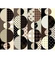 brown geometric vector image