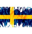 Flag of Sweden vector image