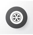 tie icon symbol premium quality isolated wheel vector image