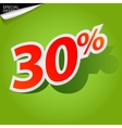 label percent vector image