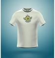 Soccer T-Shirt vector image vector image
