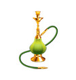 hookah isolated vector image