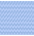 Blue wave pattern vector image