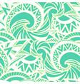 boho style pattern vector image