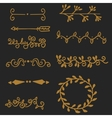 High quality original set of vintage elements for vector image
