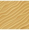 Sand texture Desert sand dunes vector image