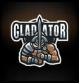 1 gladiator vector image