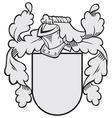 aristocratic emblem No35 vector image
