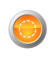 cycle button vector image vector image