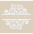 lace card vector image