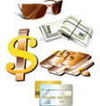 object illustrations vector image vector image