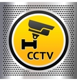 CCTV symbol vector image vector image