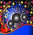 Music Rock Party Background vector image