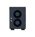 speaker sound volume music icon vector image