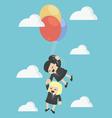 Cartoons concepts Teamwork vector image