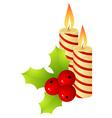 christmas staff vector image