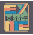 extreme sports design fashion vector image vector image