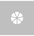 lemon computer symbol vector image