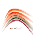 Blurred swirl background vector image vector image