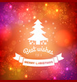 beautiful festive background vector image