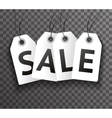 Price Sale Text Symbol Labels Icon Transperent vector image