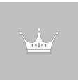 Crown computer symbol vector image