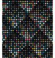 Halftone Rhombus Tiles Retro Colors Seamless vector image