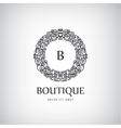 Luxury Vintage logo icon vector image