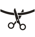Cutting Ribbon Icon vector image
