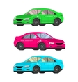 design concept of choice and buying a car vector image