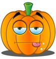 Pumpkin Face 3 vector image vector image