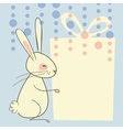 Easter Rabbit Background vector image vector image