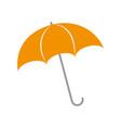 umbrella rainy season protection accessory vector image