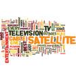 entertainment ala satellite tv text background