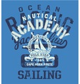 Cape Horn sailing regatta vector image vector image