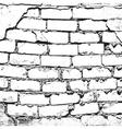 Bricks Damaged vector image