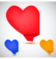 Heart Speech Bubble vector image